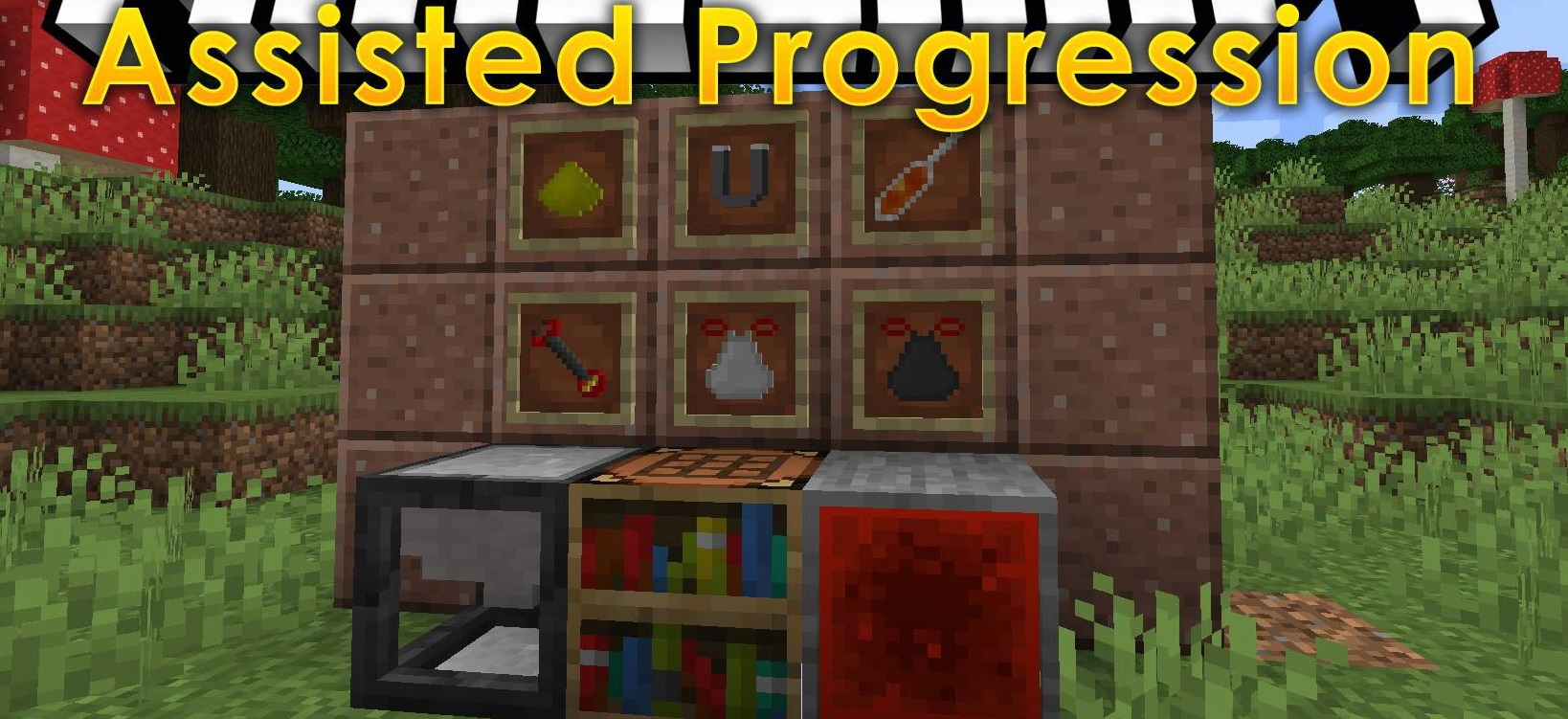 Assisted-Progression-mod-for-minecraft-logo