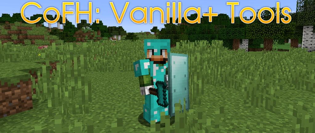 CoFH-Vanilla-Tools-mod-for-minecraft-logo