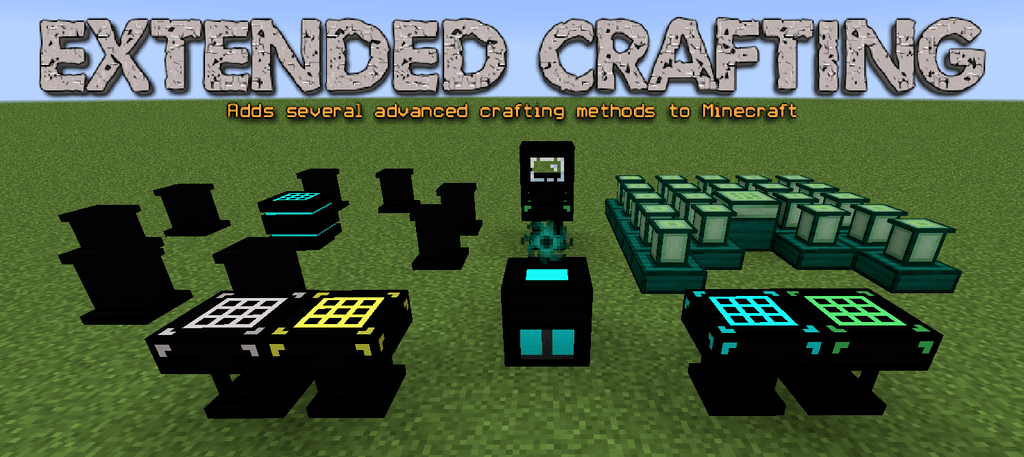 Extended-Crafting-Mod-for-Minecraft-logo