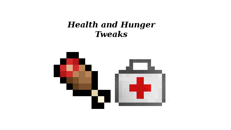 Health-and-Hunger-Tweaks-Mod