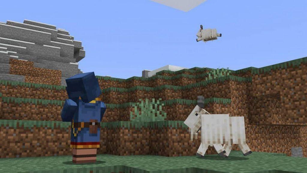 5. Как добыть рог козы Майнкрафт