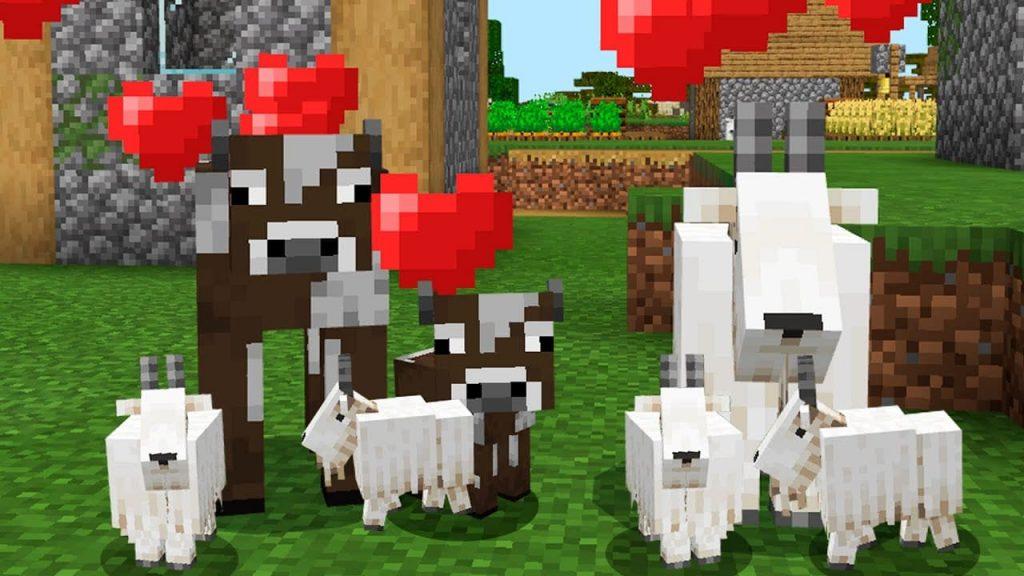 7. Разведение коз в Майнкрафт