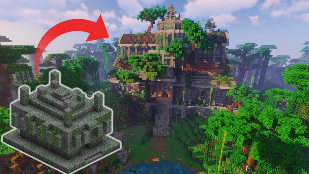 Храмы в игре Майнкрафт