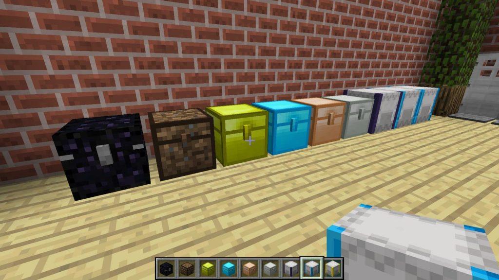Iron Chest Minecraft мод