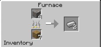 Слиток железа в Майнкрафт обжиг