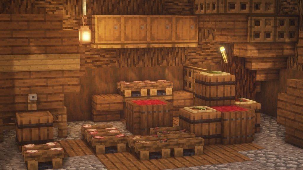 Бочки в Minecraft для декора