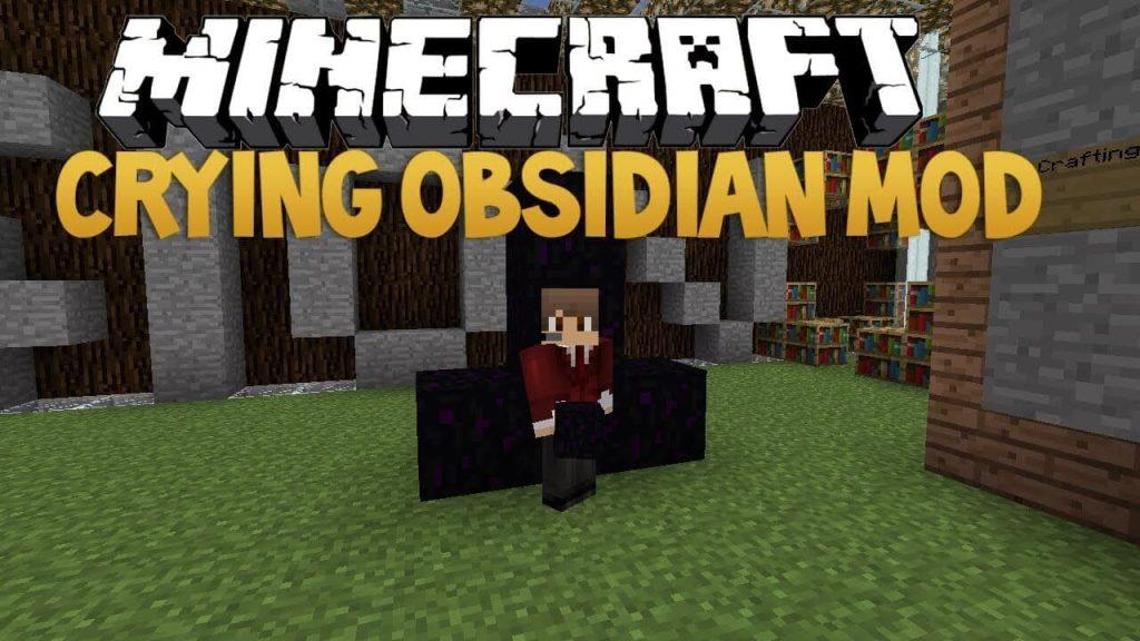 Crying Obsidian Mod Minecraft