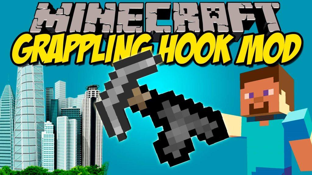 Grapple Hooks Mod Minecraft