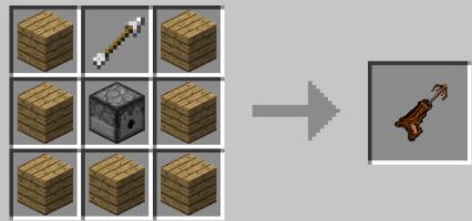 Grapple Hooks Mod Minecraft крафт предмета