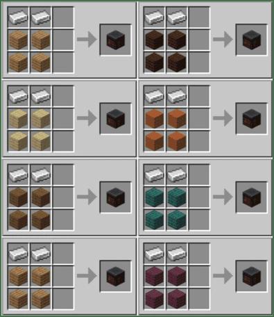 Кузнечный стол Minecraft как скрафтить