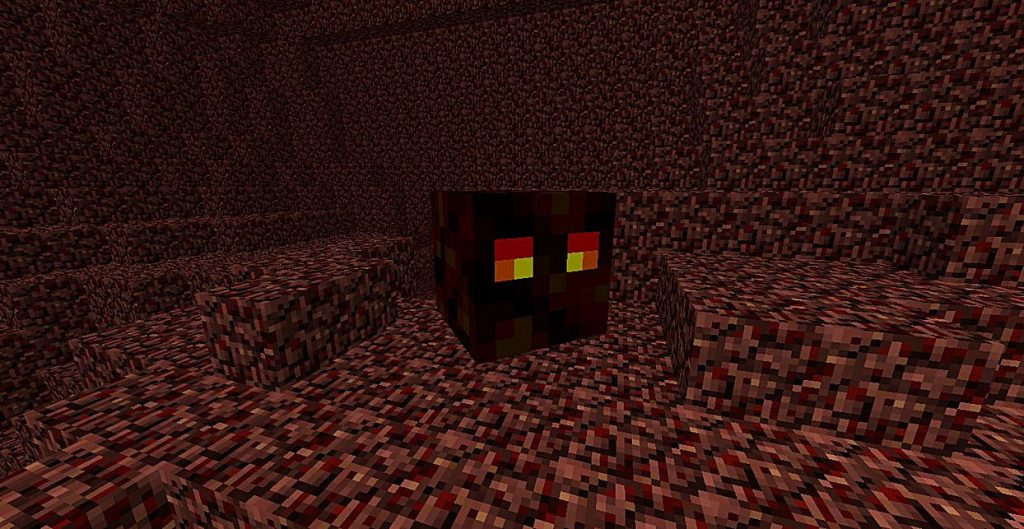 Магма куб в майнкрафте