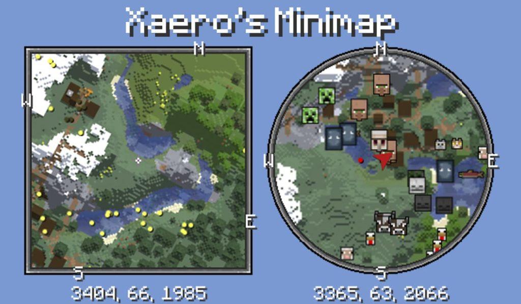 Моды для стола картографа Minecraft