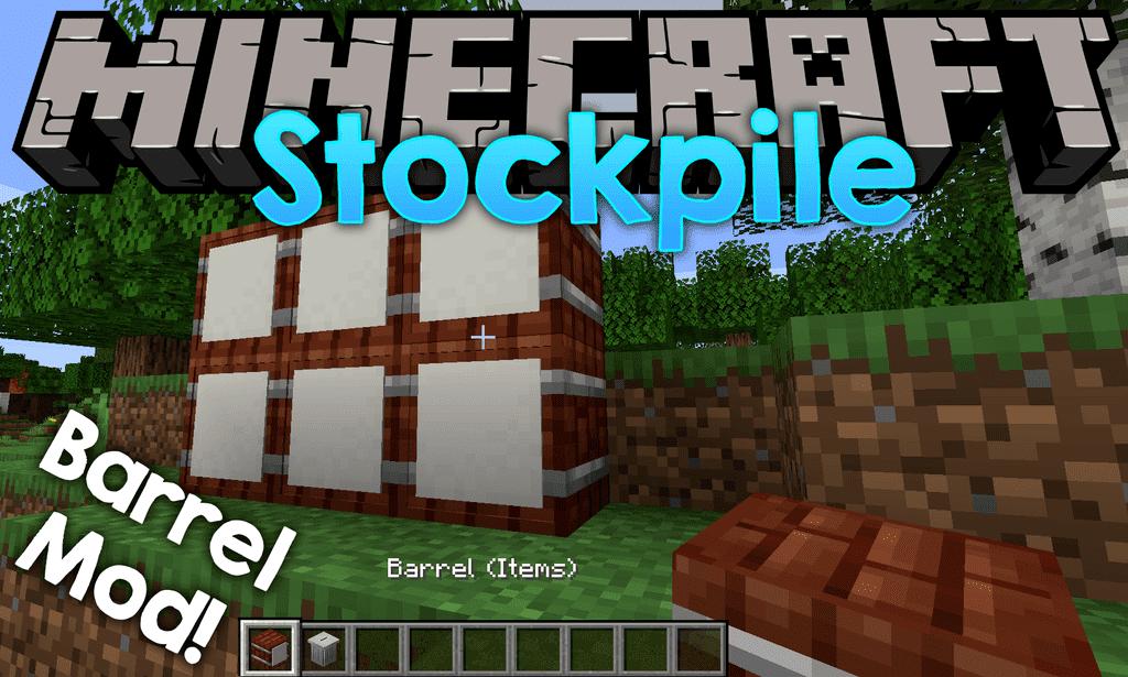 Мод Stockpile