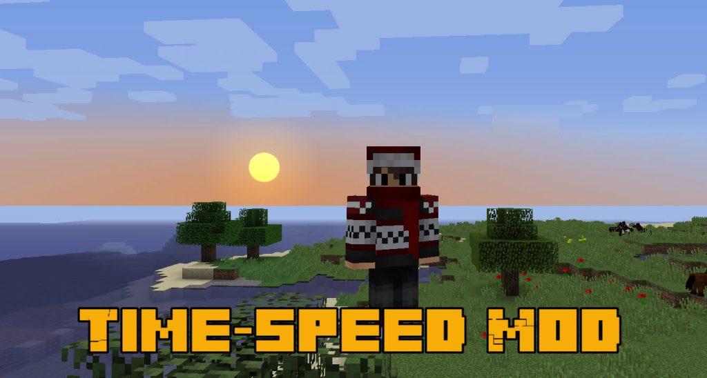 Мод Time-speed Майнкрафт
