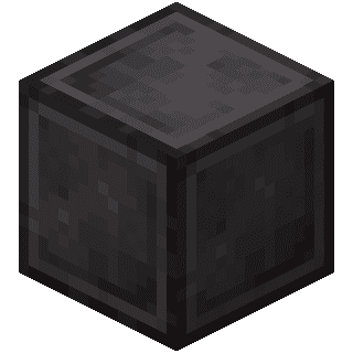 Незеритовый блок Майнкрафт