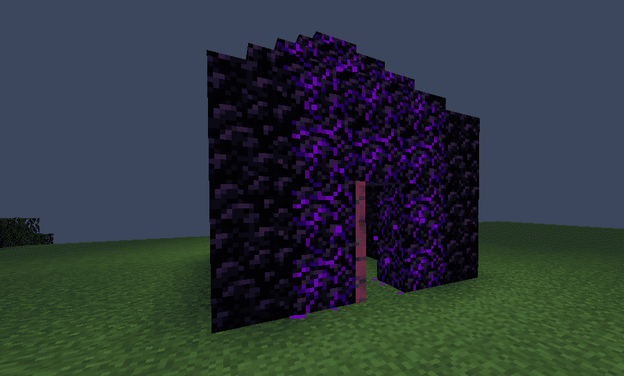 Obsidian Extension Minecraft