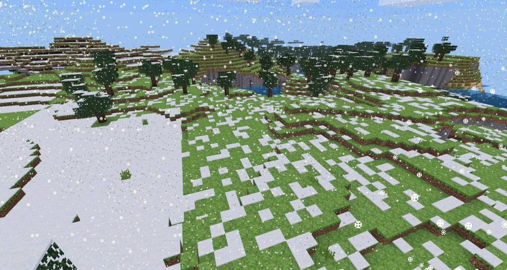 Погода в игре Майнкрафт
