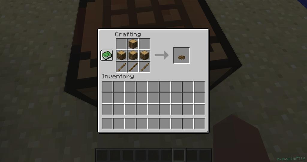 Simple Camp Fire Minecraft